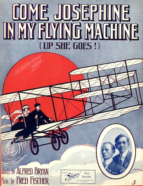 Bagaduce-Music-Lending-Library-Sheet-Music-Exhibits-Come-Josephine-In-My-Flying-Machine