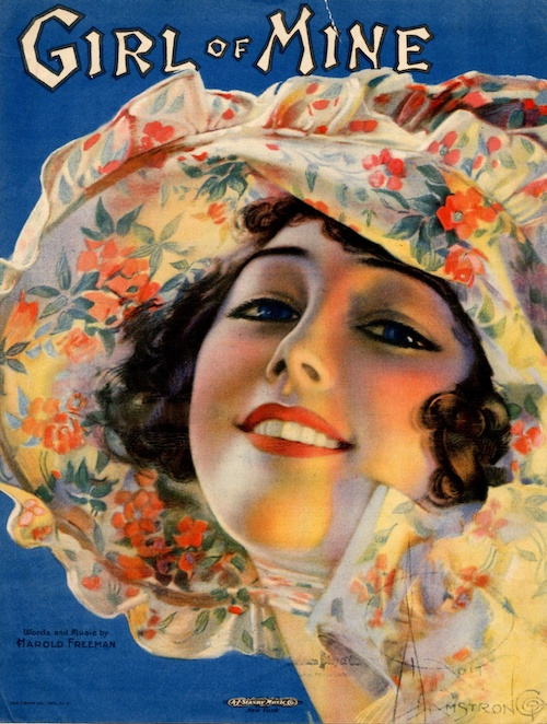 Bagaduce-Music-Lending-Library-Sheet-Music-Exhibits-Girl-Of-Mine
