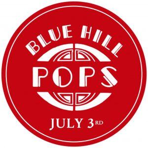 Blue Hill Pops! logo